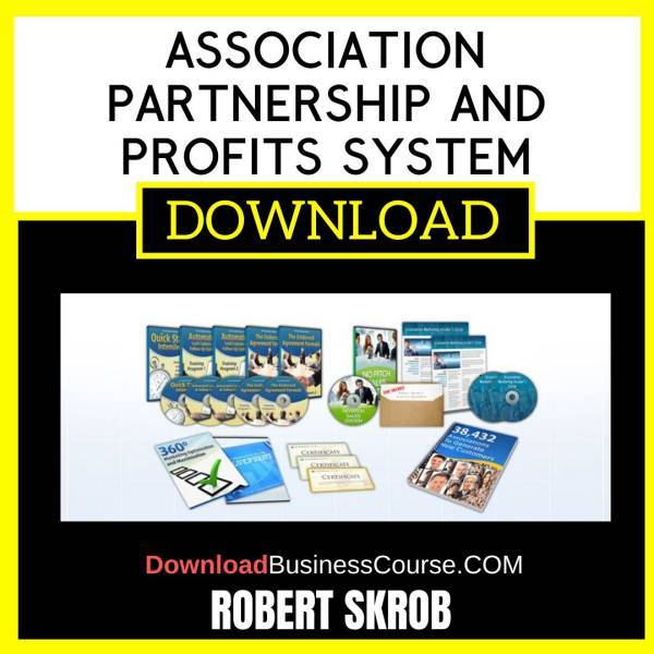 Robert Skrob Association Partnership And Profits System FREE DOWNLOAD