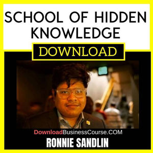 Ronnie Sandlin School Of Hidden Knowledge FREE DOWNLOAD
