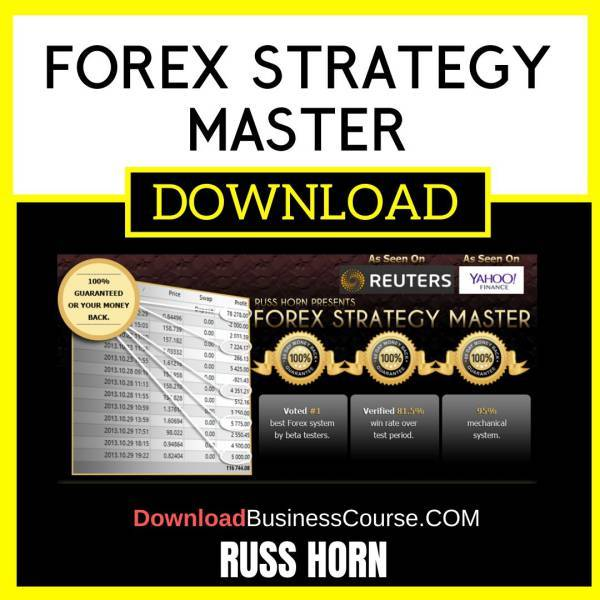 Russ Horn Forex Strategy Master FREE DOWNLOAD