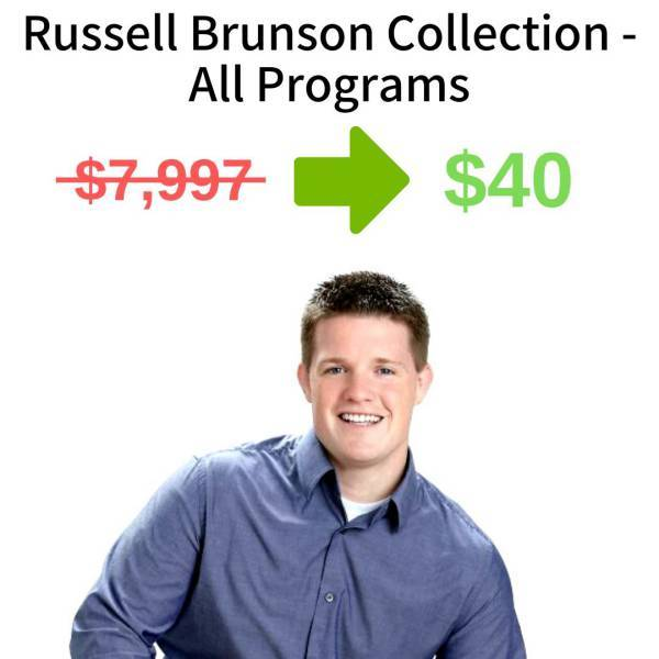 Russell Brunson Collection - All Programs FREE DOWNLOAD