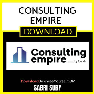 Sabri Suby Consulting Empire Group Buy FREE DOWNLOAD