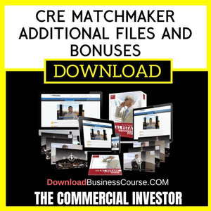 The Commercial Investor Cre Matchmaker Additional Files And Bonuses FREE DOWNLOAD