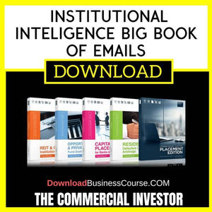 The Commercial Investor Institutional Inteligence Big Book Of Emails FREE DOWNLOAD