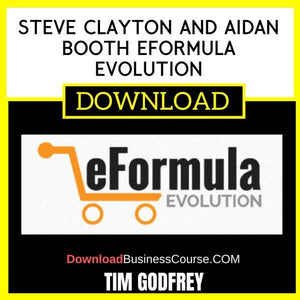Tim Godfrey Steve Clayton And Aidan Booth Eformula Evolution FREE DOWNLOAD