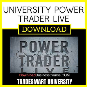 Tradesmart University Power Trader Live 2015-16 FREE DOWNLOAD