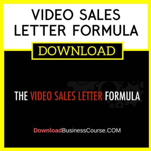 Ryan Deiss Video Sales Letter Formula FREE DOWNLOAD