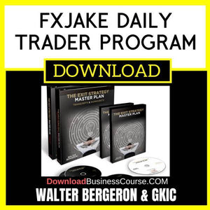 Walter Bergeron Gkic The Exit Strategy Master Plan FREE DOWNLOAD