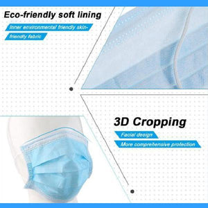 3-Ply Non-woven Effective Guard 50pcs/Box