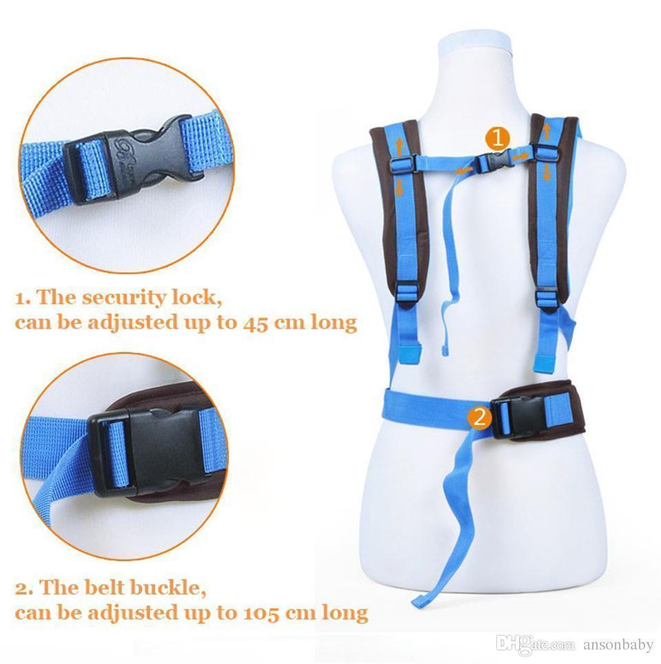 Breathable 4 In 1 Baby Carrier