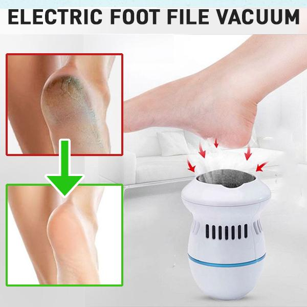 Electric Foot File Vacuum