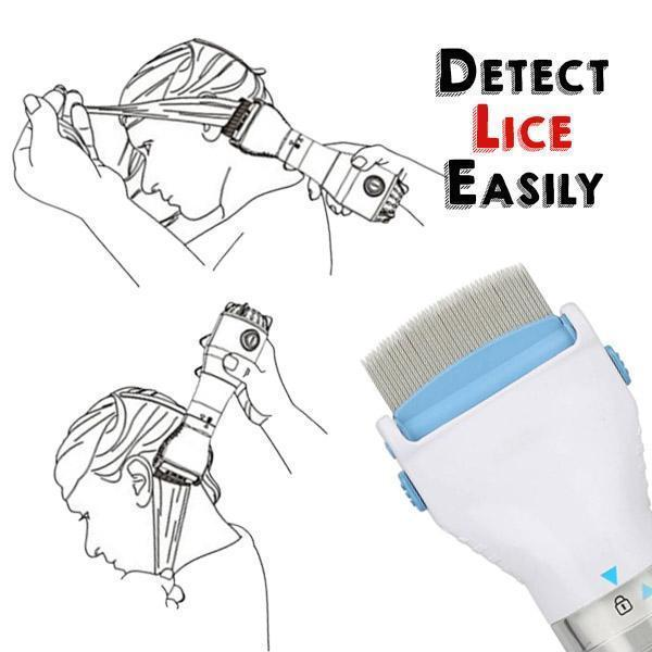 Electric Lice Detection Comb