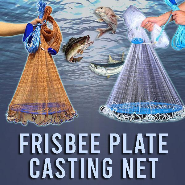 Frisbee Plate Casting Net