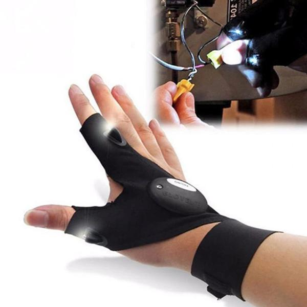 Universal Working Glove With LED Light (A Pair)