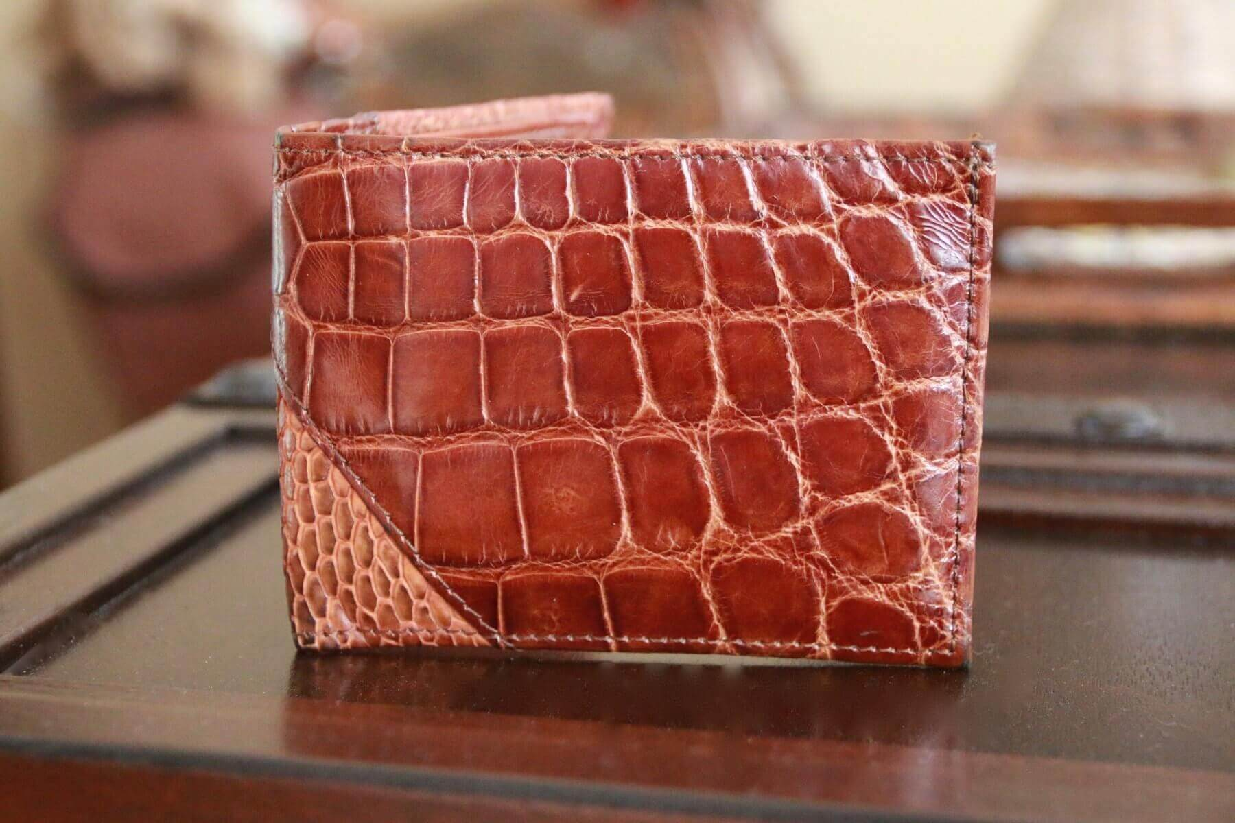 Mens Alligator Wallets