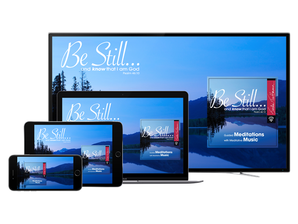 Be Still and Know that I am God Digital Download Meditations