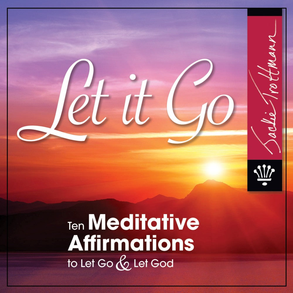 Let it Go Meditation CD With Bonus Downloads and Prayer Booklet