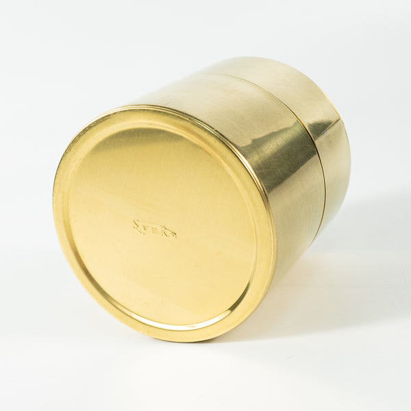 Cylindrical Brass Can