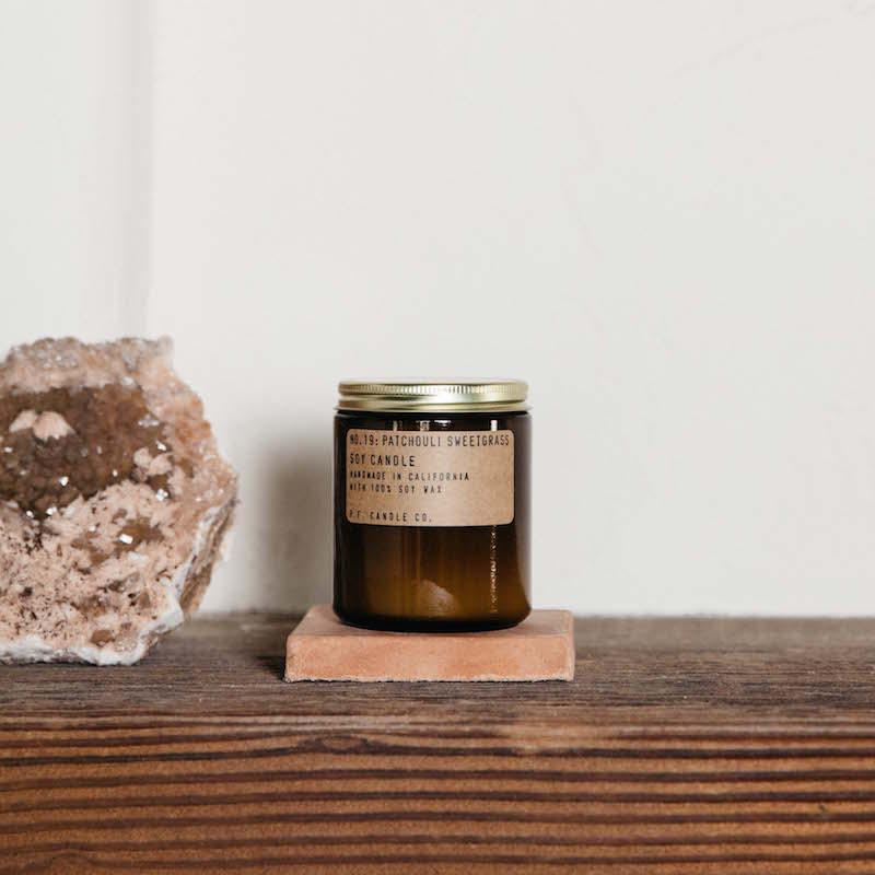 Soy Candle No.19 Patchouli Sweetgrass