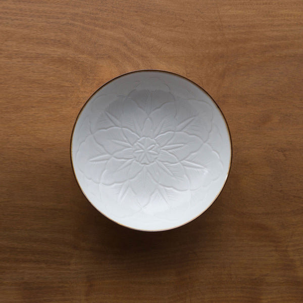 Carved Flower Dish 花彫淺鉢