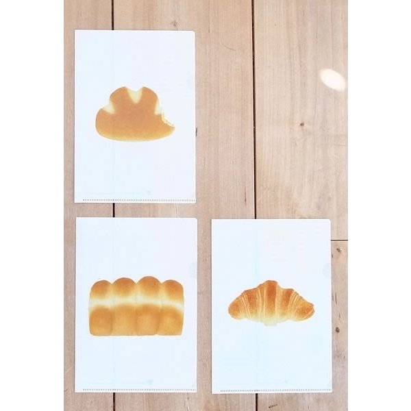 """BREAD"" Clear File l 彦坂木版工房"