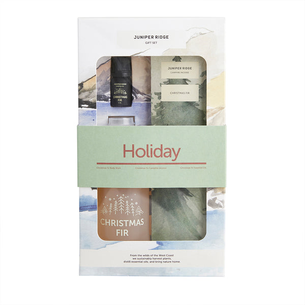 Holiday Christmas Fir Gift Set