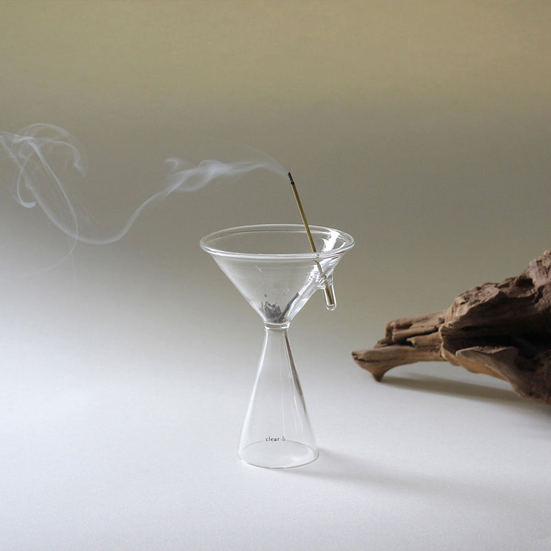 Glass Incense Burner M