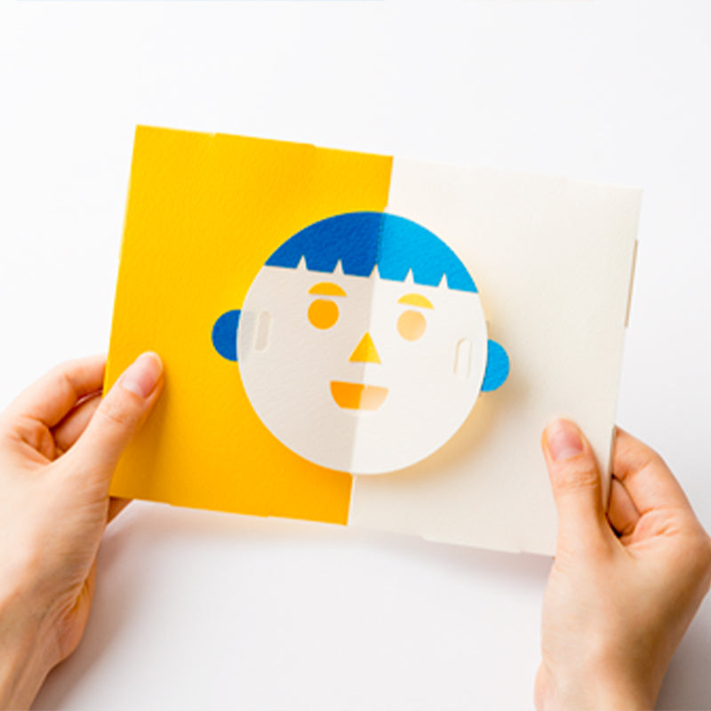 FACE Pop Up Card 立體笑面卡