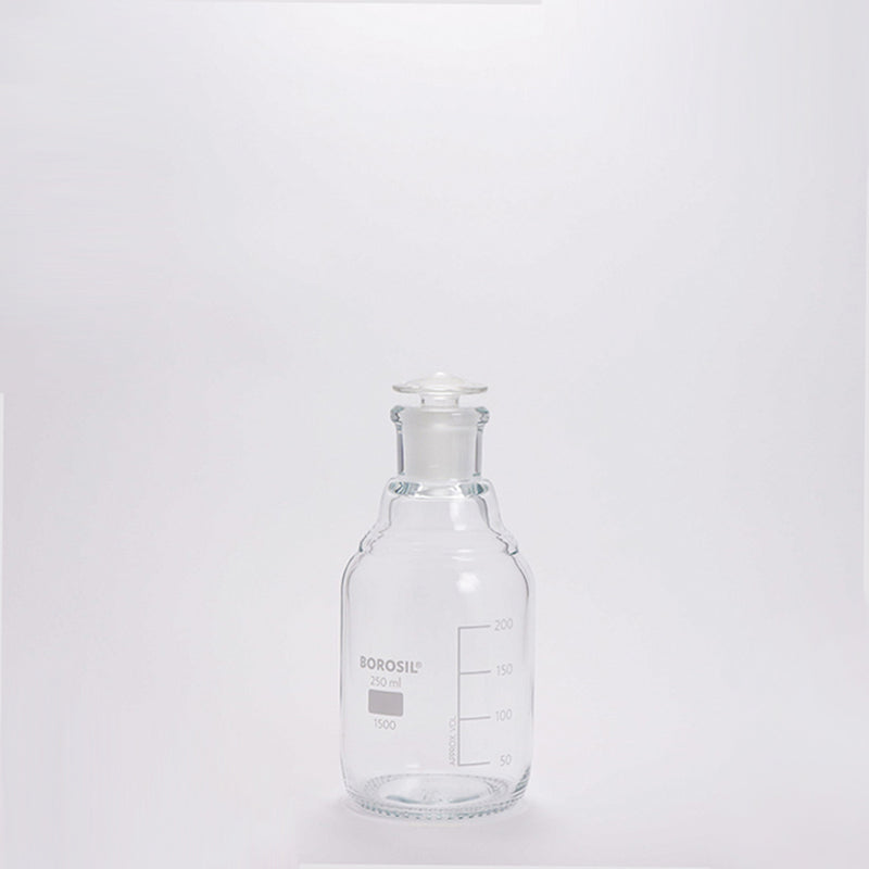 LAB GLASS Storage Bottle (glass stopper) 250