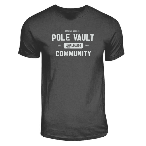 Pole Vault Community Pole Vault Shirt
