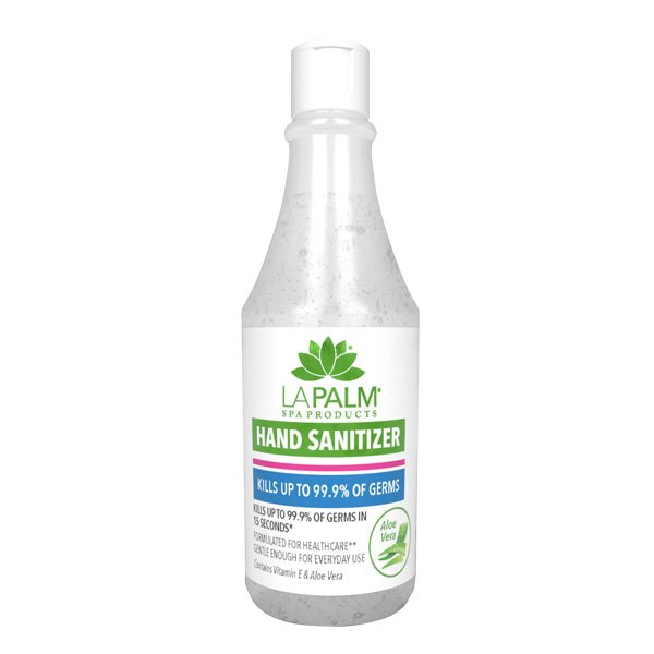 La Palm Hand Sanitizer 3.3oz (70/cs) - Global Beauty Supply
