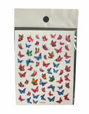 Butterflies Nail Sticker 9250-714