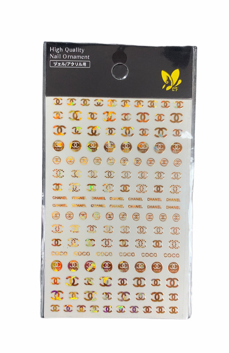 DSN Nail Sticker 9618