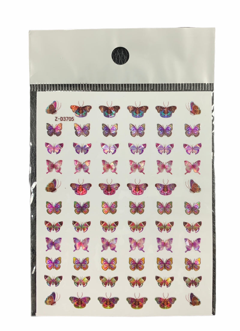 Butterflies Nail Sticker 9250-705