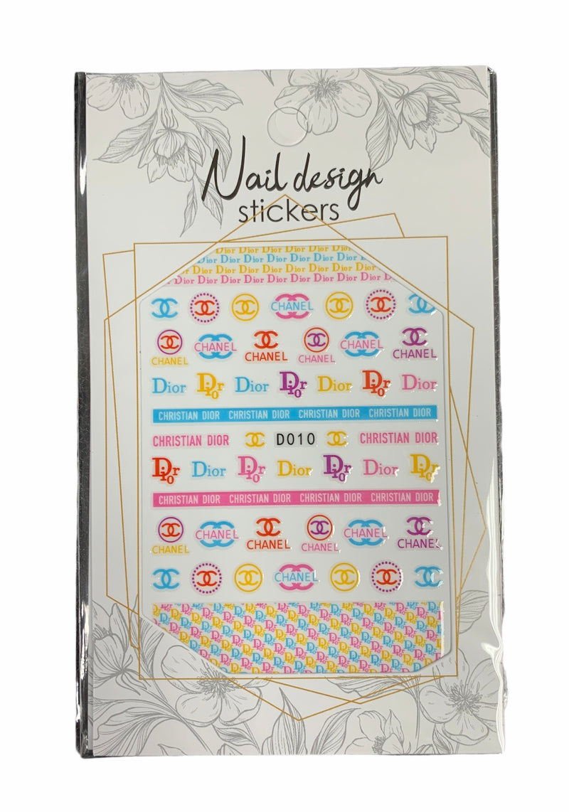DSN Nail Sticker 9606