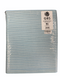 "Emery Board File 7"" 80/80 grit COARSE White with Blue Center Washable"