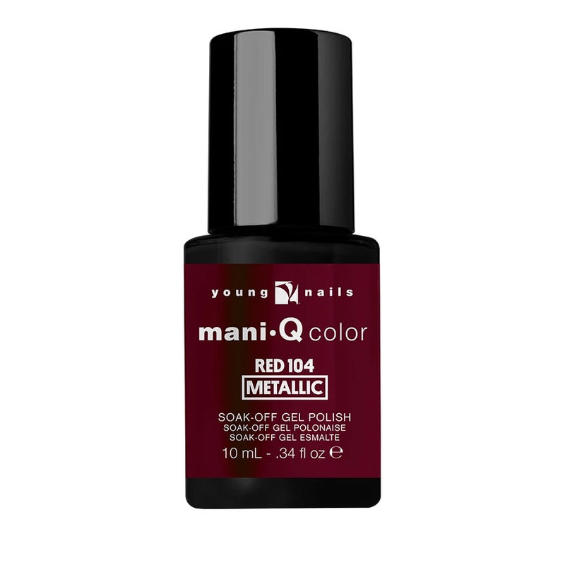YN ManiQ Color 1/3 oz Red 104