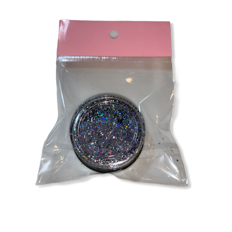 Nail Art Laser Holographic Glitter Shimmering Flakes 9767