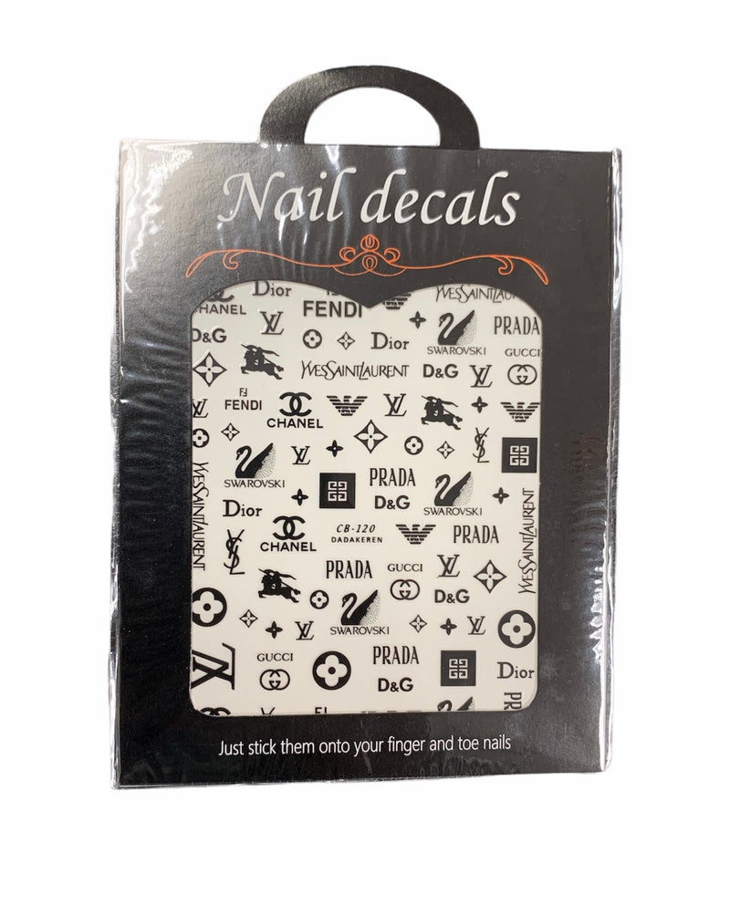 DSN Nail Sticker 9609