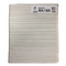 "Emery Board File 7"" 80/80 grit COARSE Premium White File"