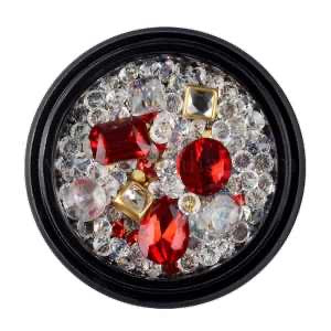 Nail Art Decoration Glass Rhinestone HZ08-6067