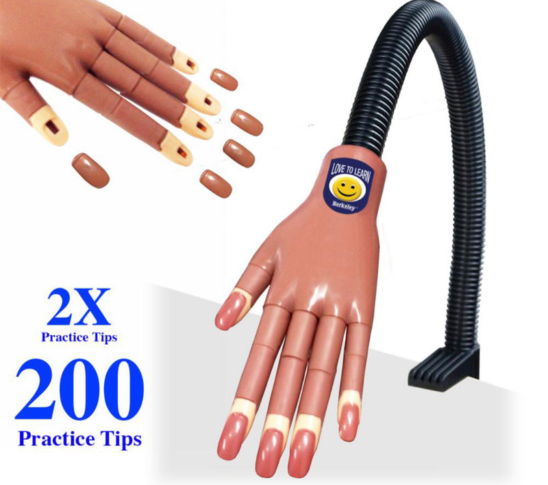 Practice (Mannequin) Hand / Deluxe Smooth Nail Traning Hand