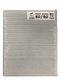 "Emery Board File 7"" 80/80 grit COARSE Premium Zebra File"