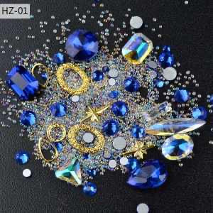 Nail Art Point Back Rhinestone 4901