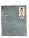 "Emery Board File 7"" 80/80 grit COARSE Washable (Black with BlueCenter)"