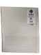 "Emery Board File 7"" 80/80 grit COARSE White White File"