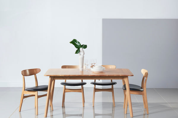 Solid Oak Extension Table