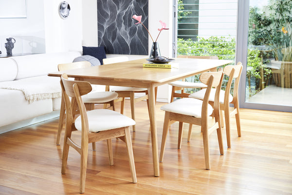 IconByDesign, Magnus Dining Table, Magnus Dining Chairs