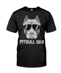Pitbull dad perfect gift for pitbull lovers Premium Fit Mens Tee