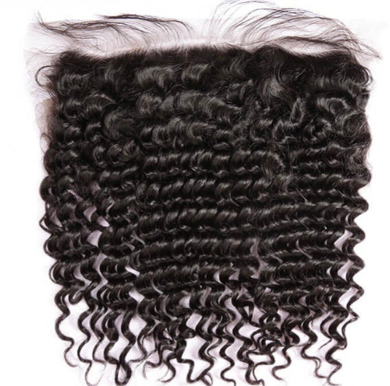 Brazilian Curly Lace Frontal