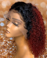Ombré Curly 13x4 wig
